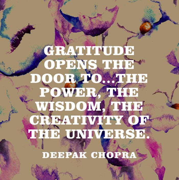 Image result for deepak chopra on thankfulness