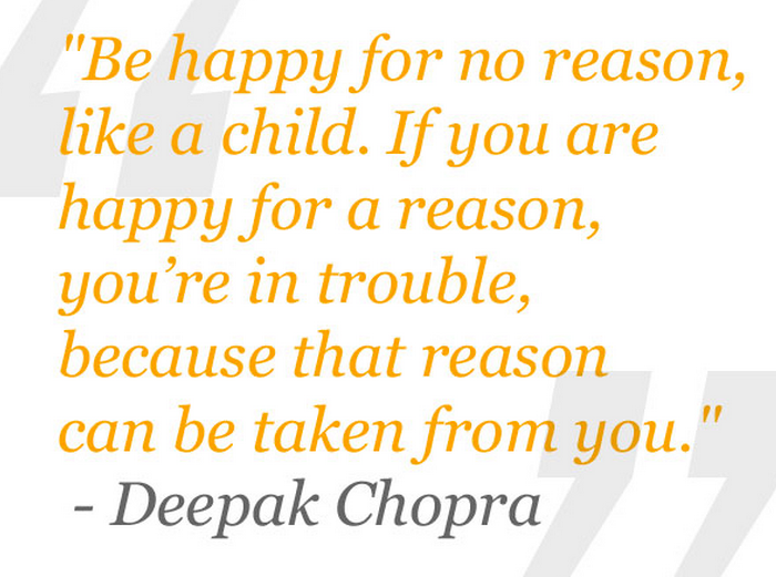 Happy Positive Quotes Fascinating What Deepak Chopra Wants You To Know About Gratitude  Happier