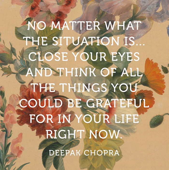 Deepak Chopra Quotes Classy What Deepak Chopra Wants You To Know About Gratitude Happier