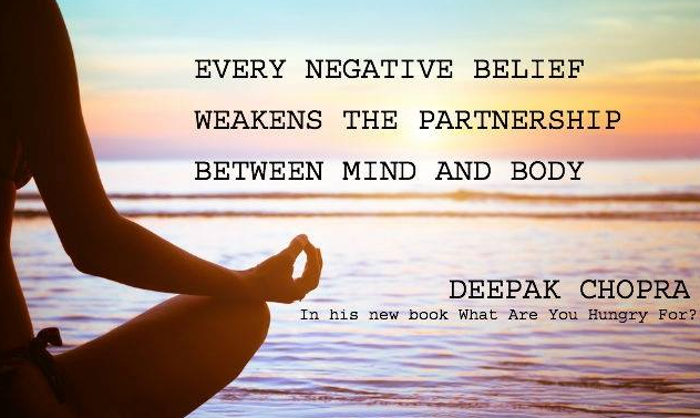 Image result for deepak chopra positive thinking quotes