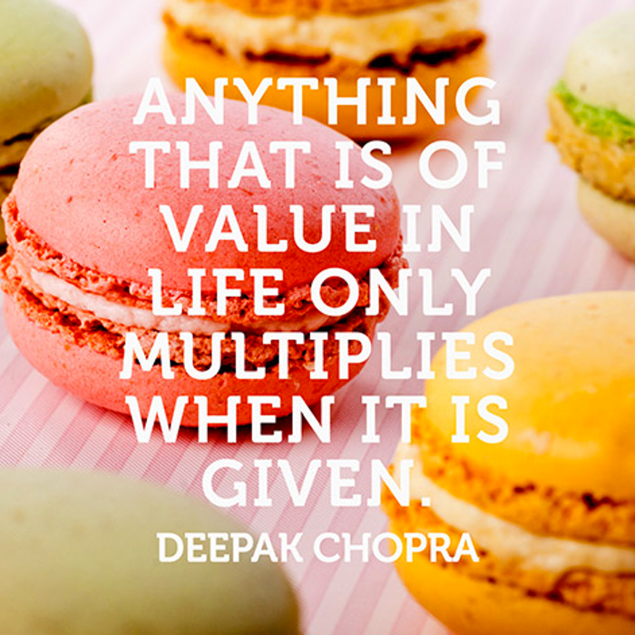 Deepak Chopra, positive quotes, gratitude