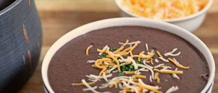 Black Bean Soup, healthy meal ideas