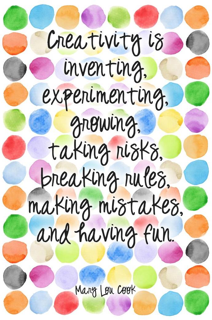 positive quotes to inspire creativity happier