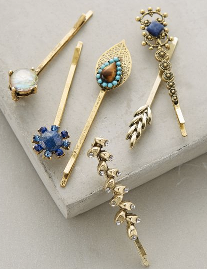 Anthropologie Bobby Pins, hair accessories for women