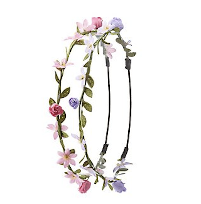 Flower power headband, hair accessories for women