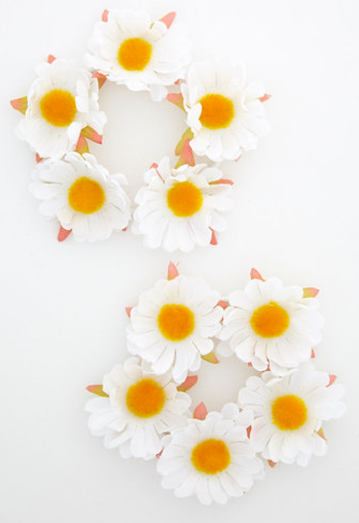 Daisy chain hair bands, hair accessories for women