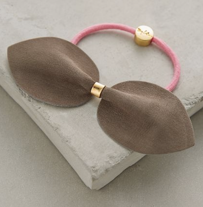 Bow tie ponytail holder, hair accessories for women