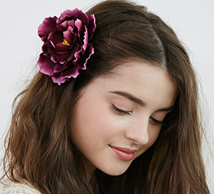 Flower hair clip, hair accessories for women