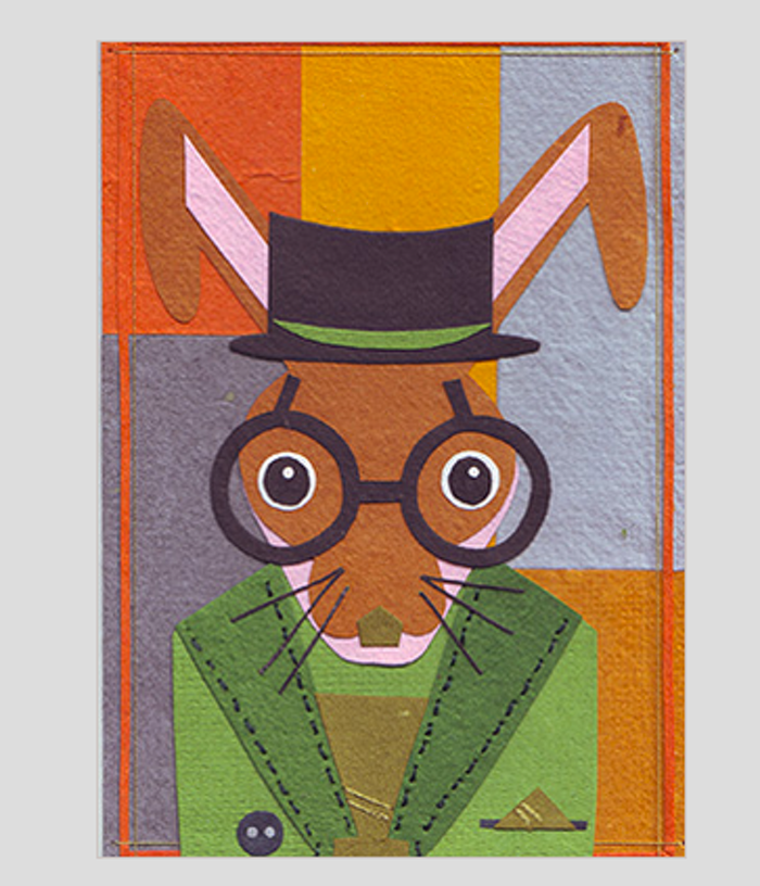 note cards, Gentleman Hare