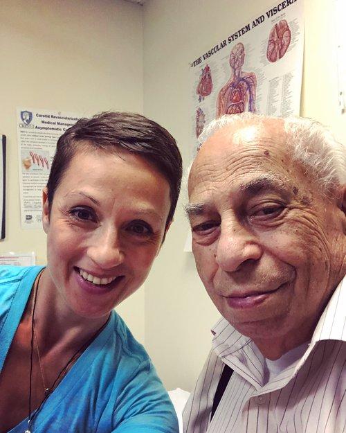 Nataly and grandpa