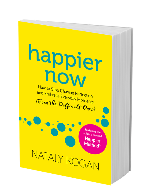 happier now paperback side image