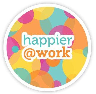 Happier @ Work sticker