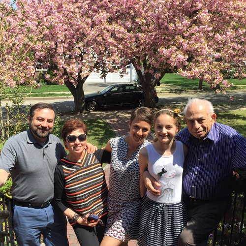 deda and family