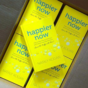 Happier Now in boxes