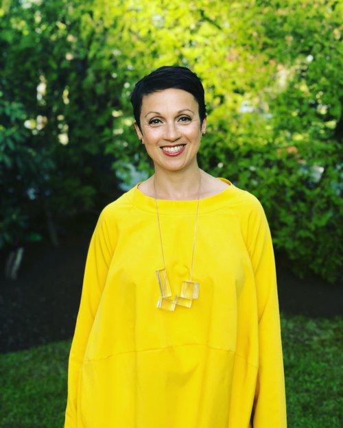 Nataly yellow dress
