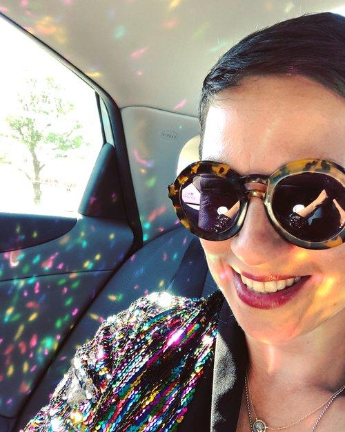 Nataly sparkly jacket