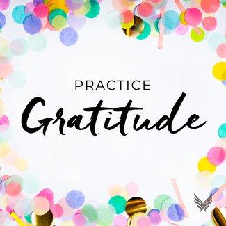 gratitude daily tile