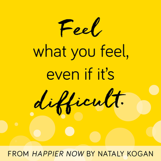 Happier Card - Difficult feelings