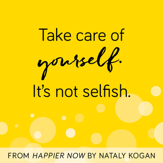 Happier Card - selfcare