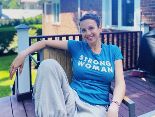 nataly strong woman tshirt