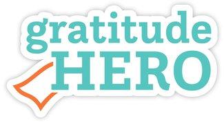 gratitude hero sticker
