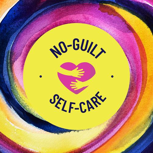 self care logo w art