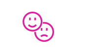 Smiley Faces Magenta